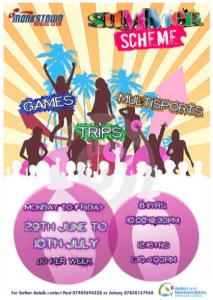 Summer scheme poster 2015